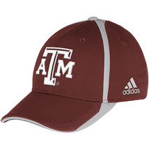 Adidas NCAA College Football Fans Curved Hat Cap Size L/XL TEXAS AGGIES  - $20.00