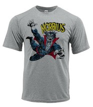 Morbius Dri Fit graphic Tshirt moisture wicking superhero comic book SPF tee image 2