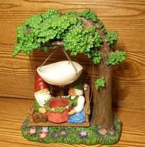 "Yankee Candle Gnome  "" Hang Gnome "" Tea Light Holder Tree Wax Warmer - $299.99"