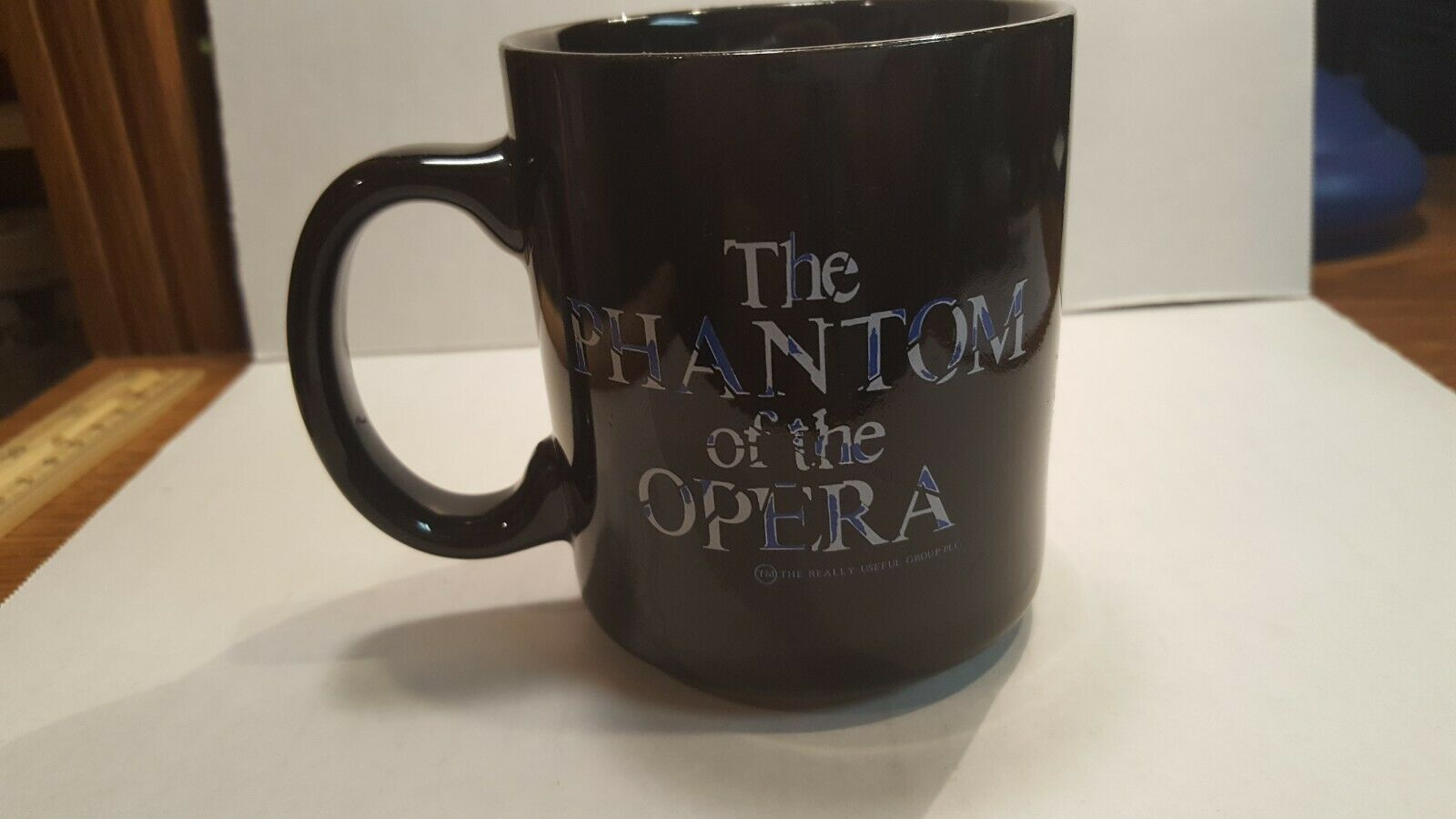 Phantom of the Opera Coffee Mug Broadway Theater Musical Cup 1986 Color Changing