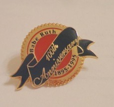 ORIGINAL New Babe Ruth Round Logo Lapel Hat Pin MLB 100th Anniversary Ne... - $3.99