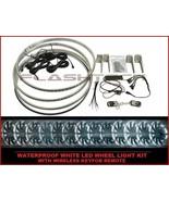 "Flashtech 15"" Waterproof Brightest White LED Wheel Rings Rim Light Kit w... - $136.03"