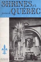 Shrines of la province de Quebec,Canada & Historical Churches - $3.95