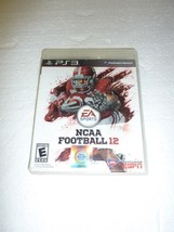 NCAA Football 12 For PlayStation 3 PS3  - $4.99