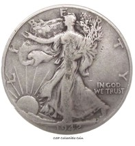 1942 Walking Liberty Half Dollar - $9.90