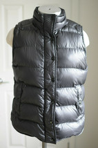 J.Crew Womens Puffer Vest Black Quilted Down Filled Size Small S  - $44.99