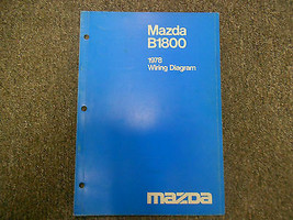 1978 Mazda B1800 Elektrisch Wiring Shop Manuell Fabrik OEM Buch 78 Geschäft - $14.83