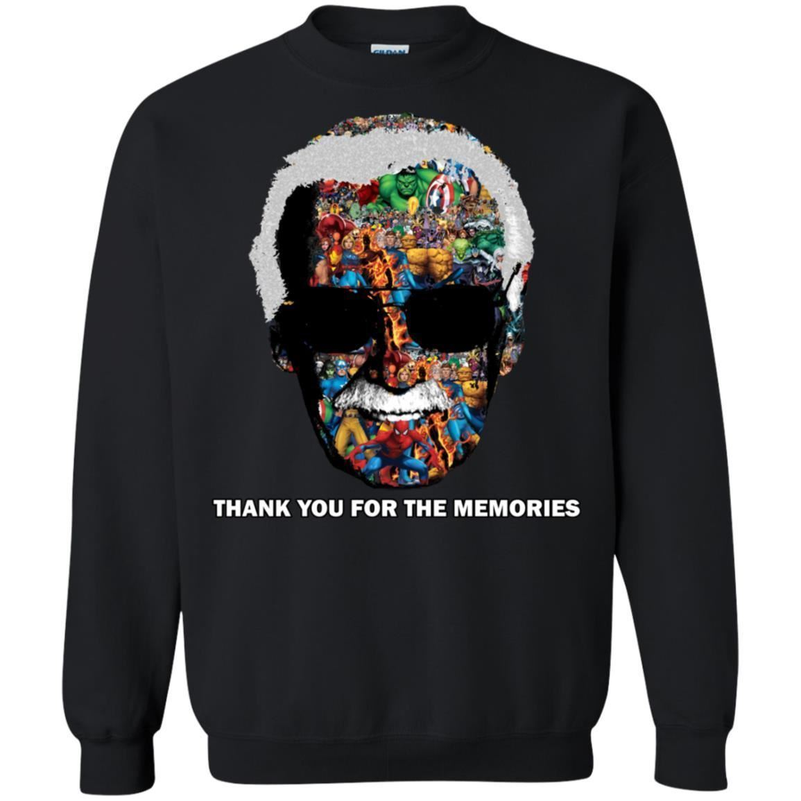 Thank You For The Memories Tee Shirt  - Inspired By Stan Lee Sweatshirt - Super image 3