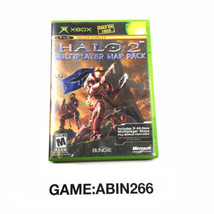 Bungie Halo 2 Multiplayer Map Pack Video Game Microsoft Xbox 2005 - $12.38