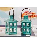 60 Vintage Blue Lantern - $237.64