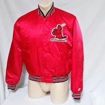 VTG St Louis Cardinals Starter Satin Jacket Coat MLB Varsity 90s Origina... - $89.95