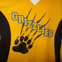 Grizzlies Jersey Yellow Black Bear Claw Marks Player Ring 13 Size Medium - $14.89