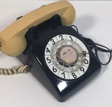 Vintage 1970 Western Electric BELL System Black Desk Top ROTARY DIAL Pho... - $42.55