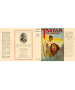 Edgar Rice Burroughs TARZAN THE UNTAMED facsimile jacket  for 1st Grosse... - $21.56