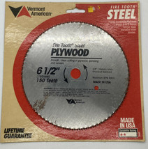 Circular Saw Blade For Plywood & Paneling Vermont American Firetooth Made in US - $11.69