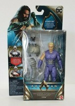 "Mattel 2018 DC Aquaman 6"" Action Figure  Hydro-Tek Ocean Gladiator  - $9.50"