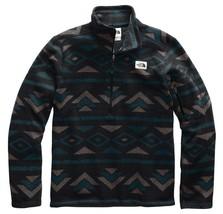 The North Face Gordon Lyons Novelty 1/4 Zip Pullover (Men's), Black/Geo ... - $69.30