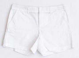 """Tommy Hilfiger White 5"""" Cotton Casual Shorts Women's NWT - $37.49"""