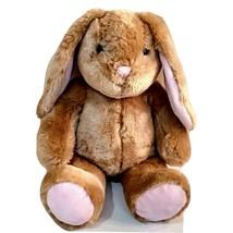 "Build A Bear Lop Eared Bunny Rabbit Light Golden Brown Pink 15"" Soft Teddy - $20.99"