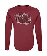 NCAA South Carolina Gamecocks Men's Long Sleeve R-Spun Tee, Maroon, XX L... - $9.99