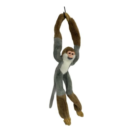 Primary image for Wild Republic K&M International Hanging Lemur Monkey Plush Toy Hook & Loop Hands