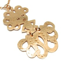Long Necklace 27 5/8in, 925 Silver, Pendant Medusa, Starfish, le Favole image 2