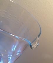 Vintage 80s Princess House crystal etched Martini Pitcher image 4