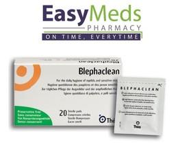 Blephaclean Sterile Pads/Wipes x20 Eye Lid Daily Hygiene Blepharitis Pre... - $18.12+