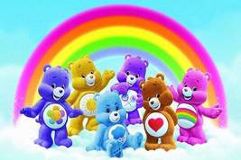 5D Diamond Painting Care Bears Rainbow Kit - $14.99+