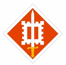 18th Engineer Brigade Sticker Military Armed Forces Sticker Decal M106 - $1.45+