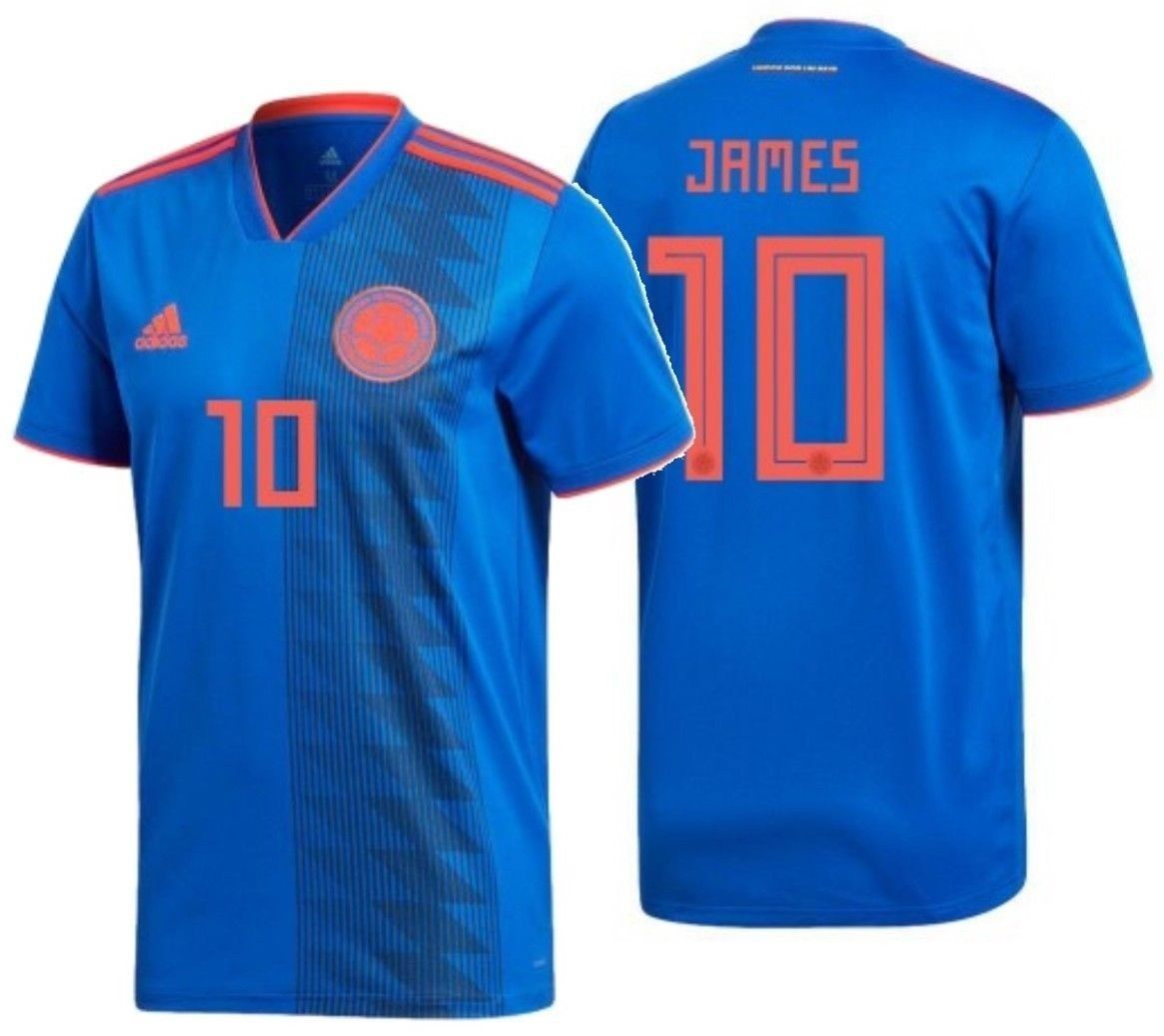 57. 57. Previous. ADIDAS JAMES RODRIGUEZ COLOMBIA AWAY JERSEY FIFA WORLD  CUP 2018. ADIDAS JAMES ... 4fdd21d6a