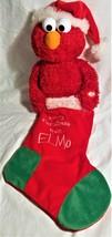 Elmo Singing/Animated Christmas Stocking-Kurt S.Adler--2012 - $22.00