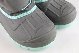 Cat & Jack Boys Kids Youth Gray Cordie Thermolite Insulation Winter Boots image 6