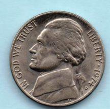 1974 D Jefferson Nickel - Circulated - Light Wear - $0.05