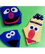 Set of 3- Sesame Street Friends Decorative Stone Paperweights - $31.50