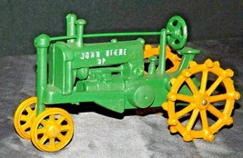 Old Vintage Cast Iron John Deere Tractor AA20-2176a Vintage Collectible