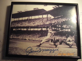 Joe DiMaggio Autographed Photo Framed and Certified - $45.00