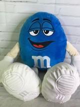 """M&M's World Blue M&M Candy Chocolate Large Plush Stuffed Toy 19"""" - $29.69"""