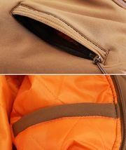 Men's Multi Pocket Water Resistant Industrial Uniform Quilted Bomber Work Jacket image 13