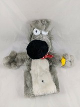 Dakin PAVLOV Dog Hand Puppet Plush 1984 Watch Stuffed Animal - $81.71
