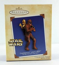 Hallmark Star Wars Ornament Chewbacca and C-3PO 2004 - $19.79