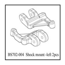 SHOCK MOUNT LEFT SIDE REDCAT RACING GROUND POUNDER MONSTER TRUCK BS702-005 - $3.49