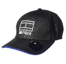 Tommy Hilfiger Men's Sport Vitality TH Deep Black StrapBack Baseball Cap 6950327 image 2