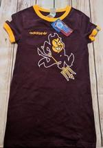 LZ Adidas Women's Small Arizona State Sun Devils Tee T-Shirt TShirt Top NEW Y30 - $13.99