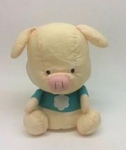 Sanrio Pippo Pig Nylon Plush Toy 1996 VTG Hello Kitty Friend Parachute Puffalump - $49.47