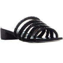 Nine West Raetruda Slide Sandals, Black Multi, 8 US - $44.44