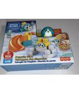 MEGA BLOKS Peek-A-Blocks Penguin SLIDE Building Set 14 Pcs Age 1+ ~ New ... - $20.37