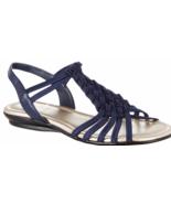Impo Brinley Stretch Sandal Memory Foam Midnight Blue  Sz 7 - $19.99