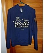Woman's size L Reebok NHL PIttsburgh Penguins Winter Classics 2011 hoodi... - $26.00