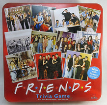 Friends TV Show Trivia Board Game Red Collectors Tin 2003 by Cardinal 2+ Player - $60.00